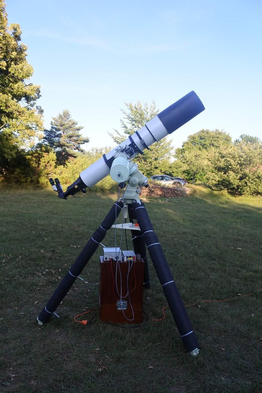 lunette apochromatique de 185 mm de diamètre