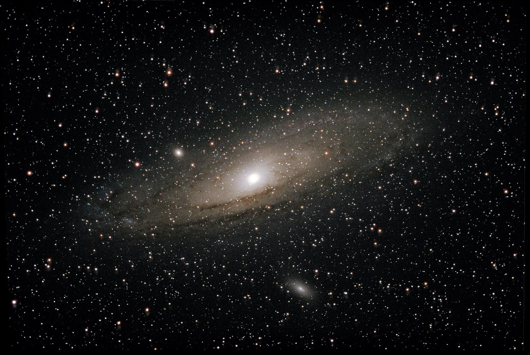 Et puis le ciel ultra profond, les galaxies