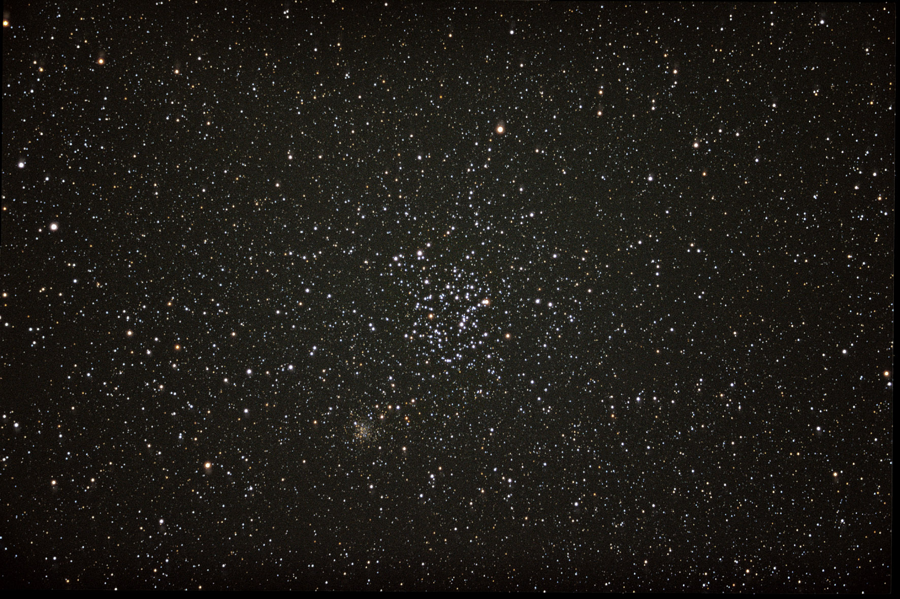 Des amas d'étoiles dit « ouverts »