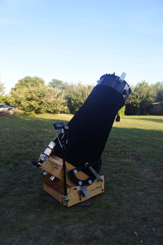 télescope artisanal de 500 mm