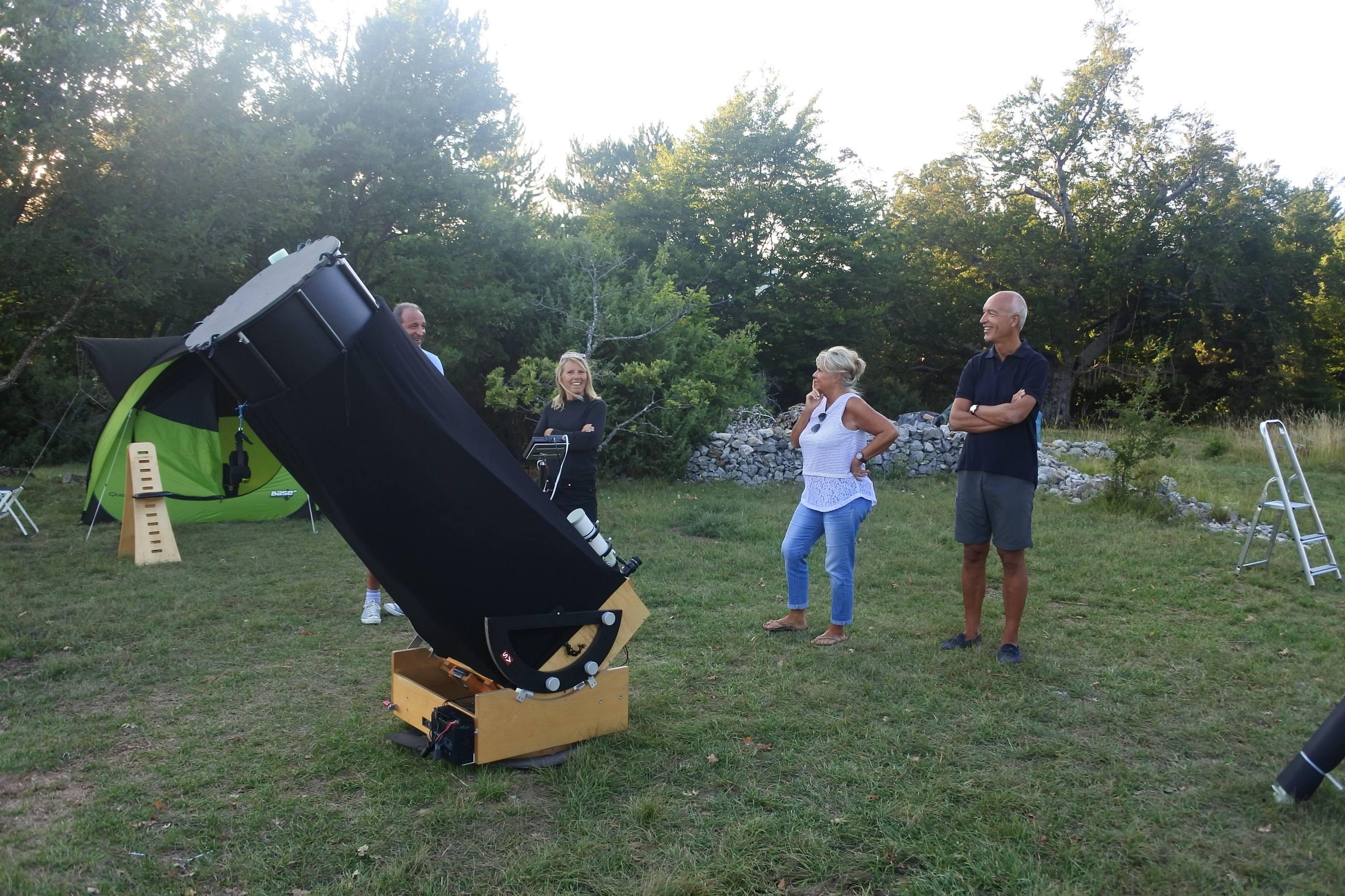 Exploration du ciel - Prestation astronomie